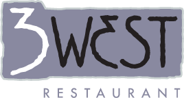 3 West Restaurant logo